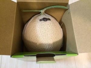 フルーツの王様「クラウンメロン」が静岡県袋井市から届きました